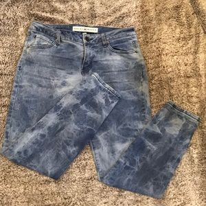 Ashley Mason Jeans - marbled color